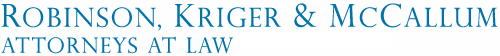 Robinson, Kriger & McCallum, Attorneys at Law :: Portland, ME: Family Law Attorney, Divorce Logo